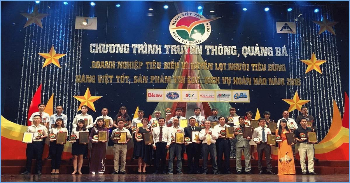 Giải thưởng đơn vị cung cấp dịch vụ sửa máy giặt uy tín tại Hà Nội
