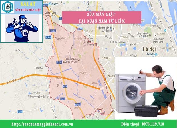 Thợ sửa máy giặt SALAT luôn túc trực tại các tuyến đường của Nam từ Liêm