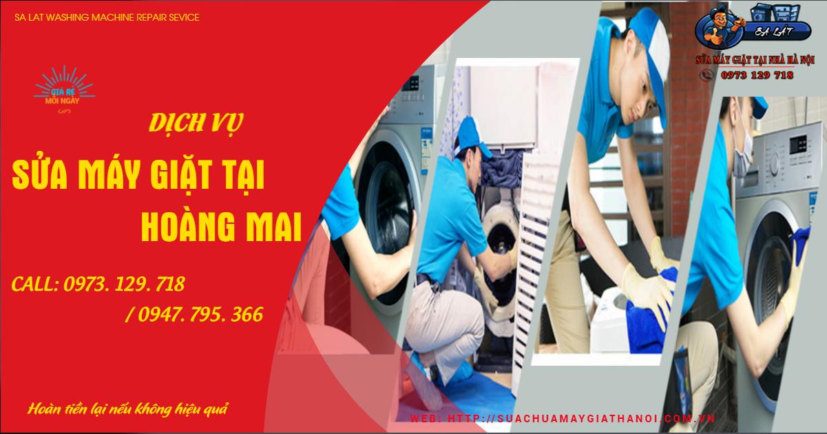 Công ty sửa máy giặt tại Hoàng Mai uy tín
