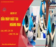 Sửa máy giặt tại Hoàng Mai uy tín giá rẻ chỉ sau 15 phút