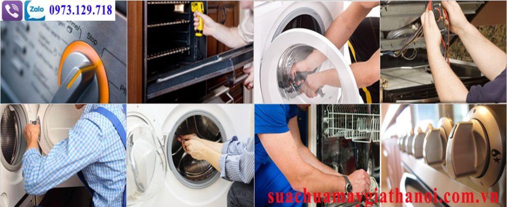 Sửa máy giặt tại nhà Linh Đàm các lỗi sau