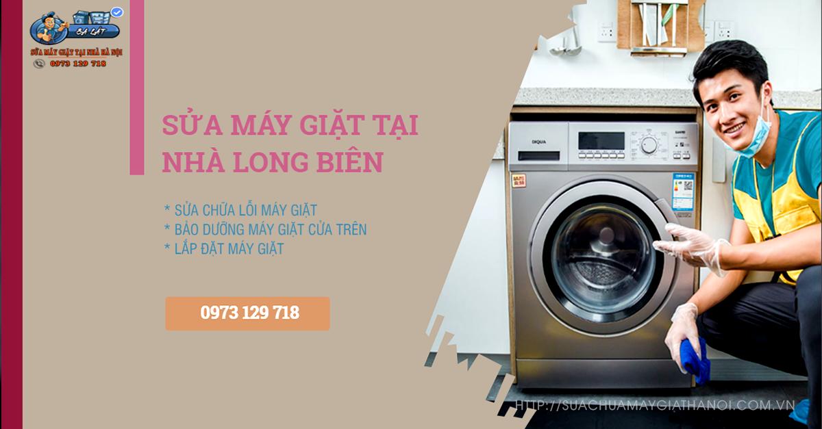 Sửa máy giặt tại Long Biên uy tín