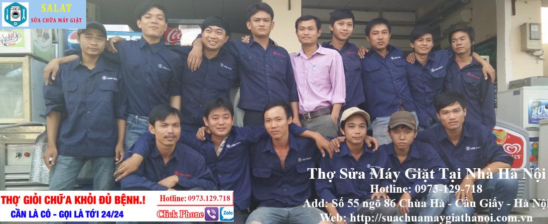 Thợ sửa máy giặt tại nhà Hà Nội