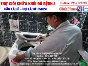 sửa mã lỗi máy giặt sharp