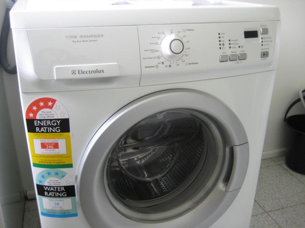 Kiểm tra hiệu quả tiết kiệm điện và nước của máy giặt