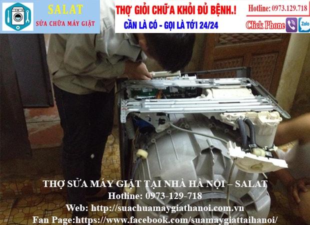 Sửa máy giặt tại nhà Mễ Trì