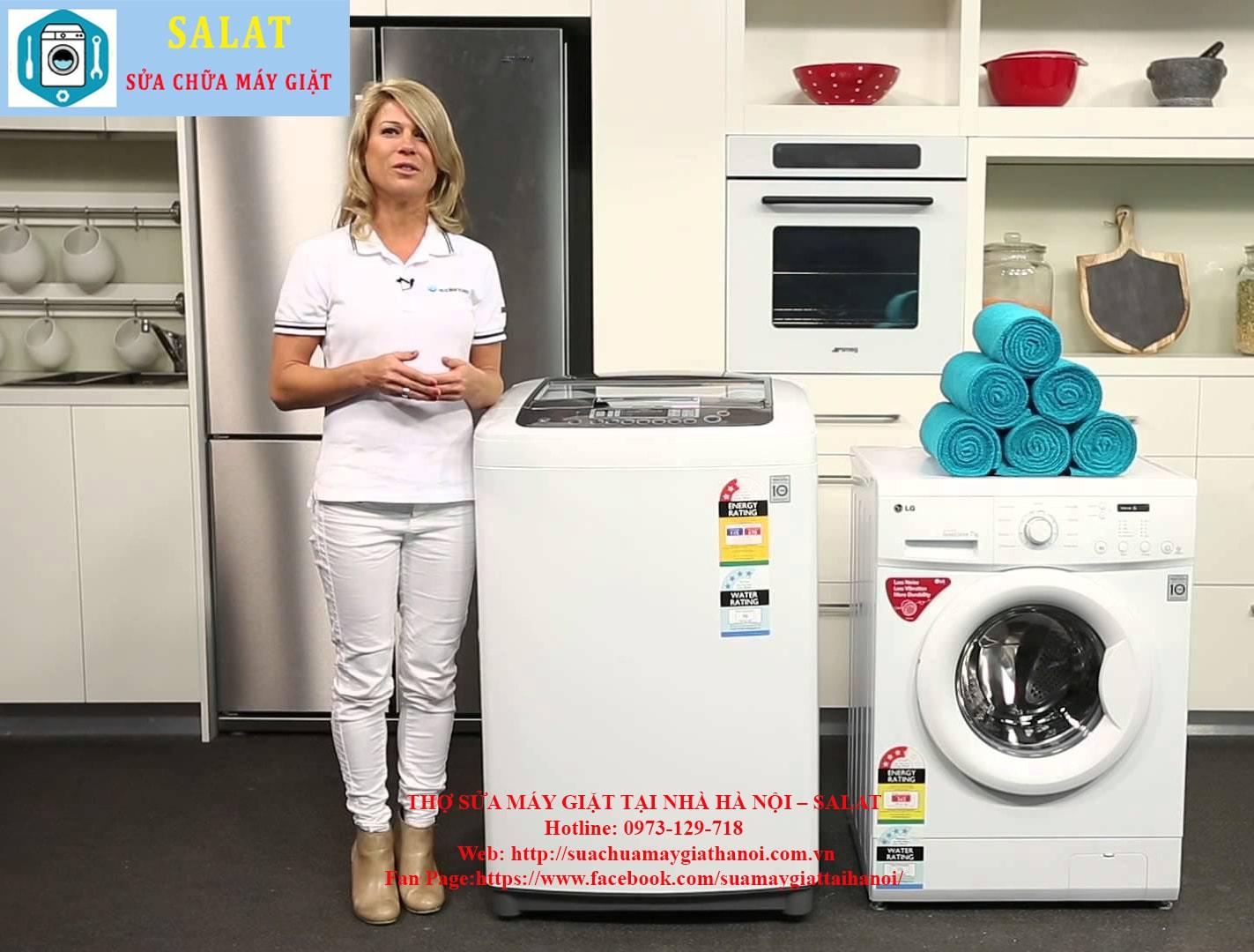 Bạn quyết định xem bạn dùng máy giặt cửa trên hay cửa ngang