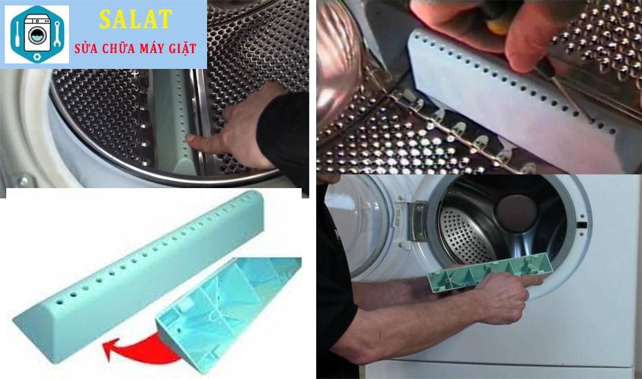 Cách thay cánh khuấy thùng giặt của máy giặt