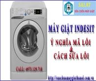 Bảng Mã Lỗi Máy Giặt Indesit