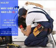 Hướng dẫn sửa máy giặt LG báo lỗi dL đơn giản và chuẩn nhất