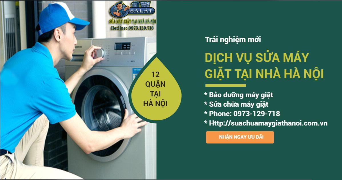 Dịch vụ sửa chữa máy giặt SA LÁT tại nhà Hà Nội