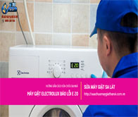 Máy Giặt Electrolux Báo Lỗi E 20 – Hướng Dẫn Sửa Chữa