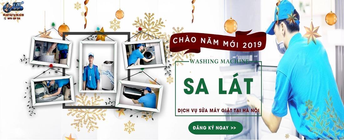 Sửa máy giặt SA LÁT chào xuân 2019