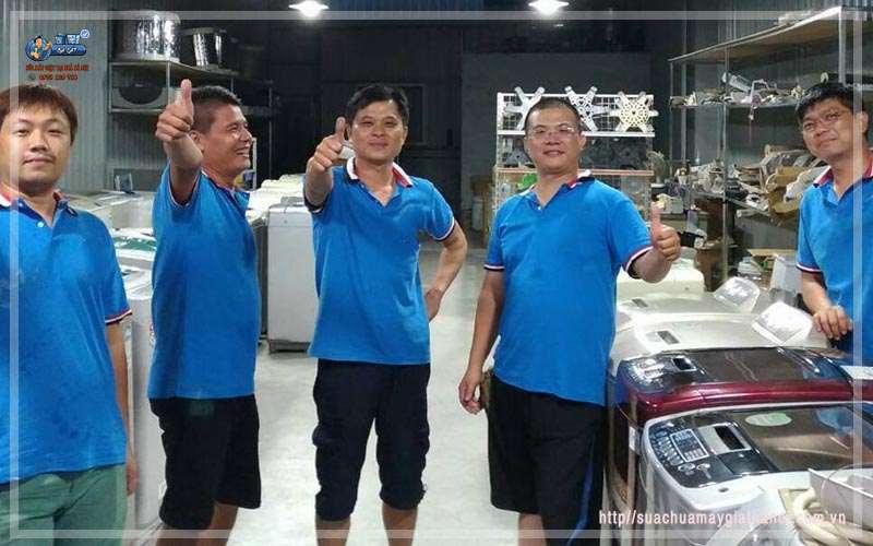 Địa chỉ sửa máy giặt uy tín tai Hà Nội