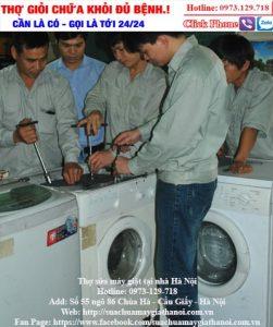 sửa mã lỗi máy giặt hitachi
