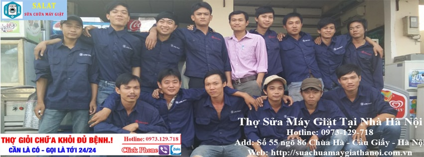 thợ sửa máy giặt tại nhà Linh Đàm
