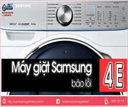 Hướng Dẫn Sửa Máy Giặt Samsung Báo Lỗi 4E Hoặc E1- Lỗi Không Cấp Nước