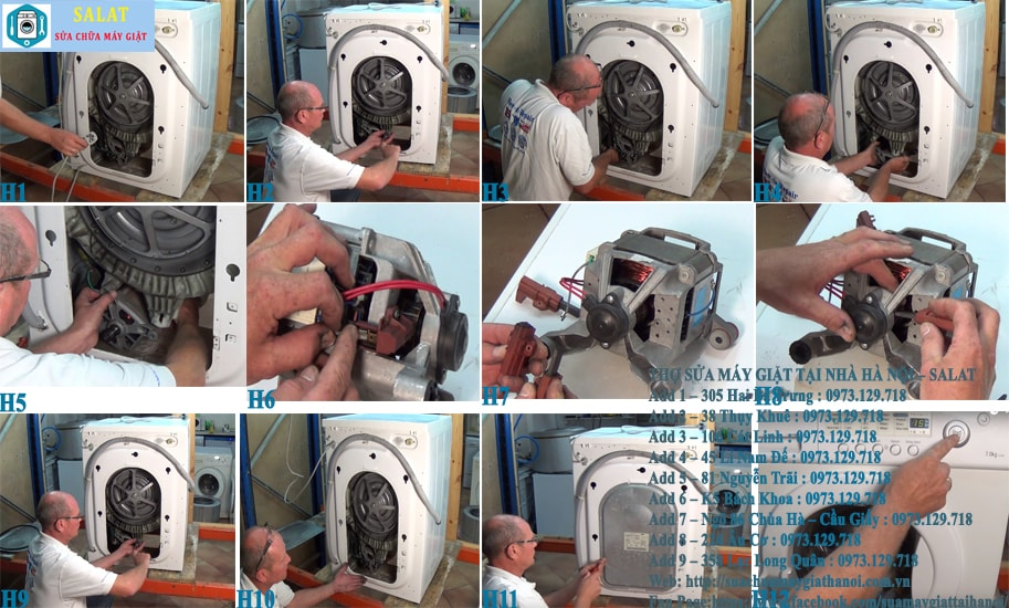 Các bước sửa máy giặt Samsung báo lỗi 3E