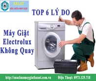 Electrolux02 Min: Máy Giặt Electrolux Không Quay