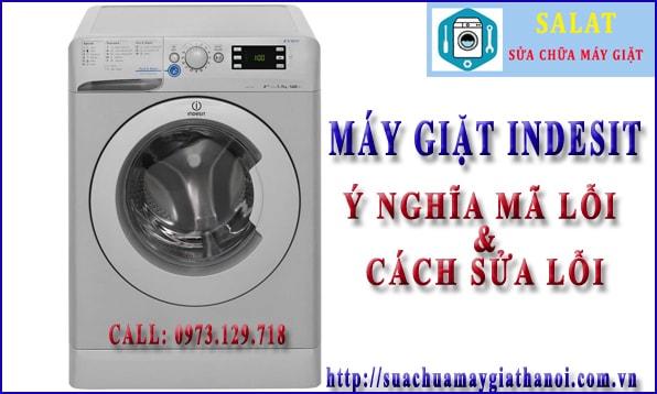 Bảng mã lỗi máy giặt Indesit của Y