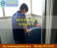 Sua May Giat Tai Nha Ngoc Ha : Ảnh Thợ Sửa Máy Giặt SALAT đang Sửa Chữa Tại Nhà ở Ngọc Hà