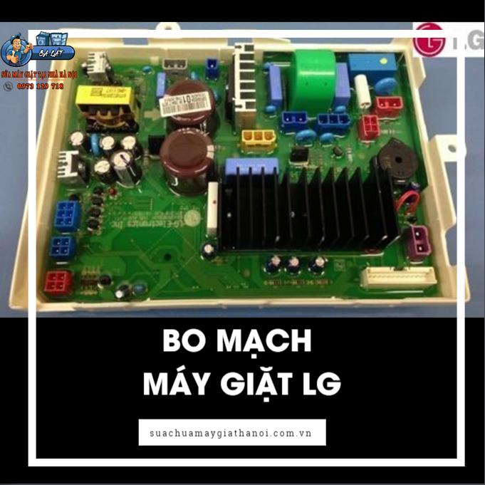Hỏng bo mạch cũng là nguyên nhân máy giặt LG báo lỗi CE