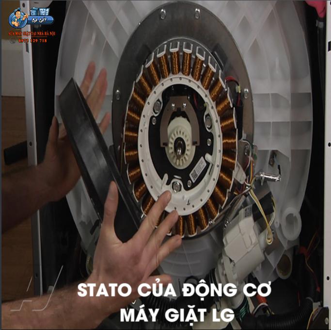 Stato của động cơ cũng là nguyên nhân dãn đến máy giặt LG báo lỗi CE