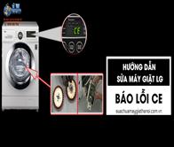 Hướng Dẫn Sửa Máy Giặt LG Báo Lỗi CE – Sửa Máy Giặt SA LÁT