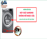 Tại Sao Máy Giặt Samsung Cửa Ngang Không Mở được Cửa Sau Khi đã Giặt Xong?
