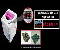 Hướng Dẫn Sửa Máy Giặt Toshiba Báo Lỗi E 71 Như Chuyên Gia SA LÁT