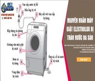 Máy Giặt Electrolux Bị Rò Nước (chảy Nước) – Hướng Dẫn Cách Sửa Chữa Tại Nhà