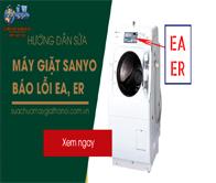 Máy Giặt Sanyo Báo Lỗi ER, EA – Hướng Dẫn Cách Sửa Chữa