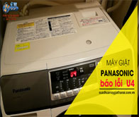 Hướng Dẫn Sửa Máy Giặt Panasonic Báo Lỗi U 4