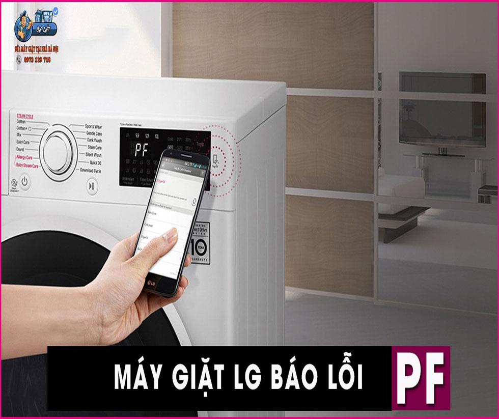 Vì Sao Máy Giặt LG Báo Lỗi PF?