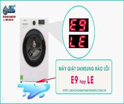 Máy Giặt Samsung Báo Lỗi LE, E9