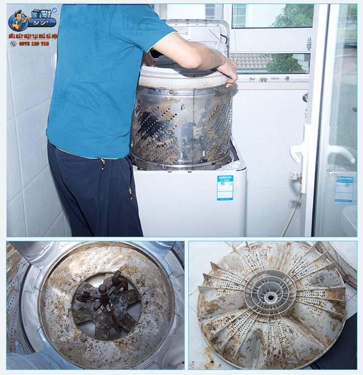 Bảo dưỡng máy giặt tại nhà Hà Nội
