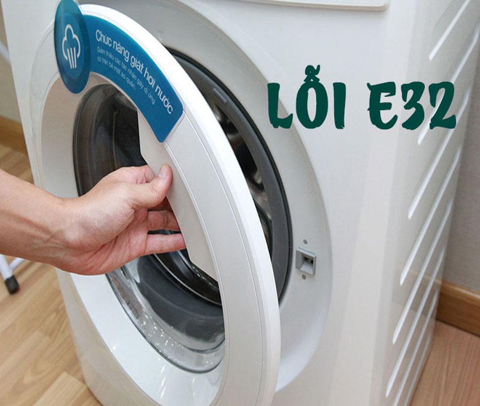 Máy Giặt Electrolux Báo Lỗi E 32 – Hướng Dẫn Cách Khắc Phục Tại Nhà